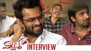 Winner Movie Team Funny Interview | Sai Dharam Tej | Jagapati Babu | Gopichand Malineni | TFPC