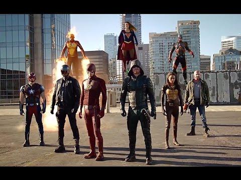 Xxx Mp4 DC Comics TV Crossover Final Fight Flash Supergirl Arrow Firestorm Atom Against The Dominators 3gp Sex