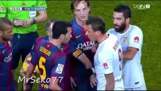 Mandzukic vs Busquets, Barcelona vs Atletico Madrid