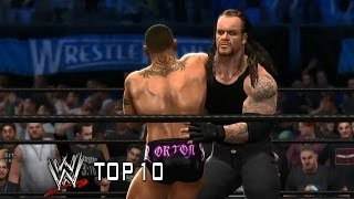 (Almost) Streak Stoppers - WWE 2K14 edition of WWE Top 10