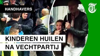 Kinderen vluchten uit stadion - HANDHAVERS #05