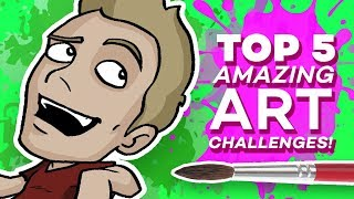 TOP 5 ART CHALLENGES: Epic Compilation!