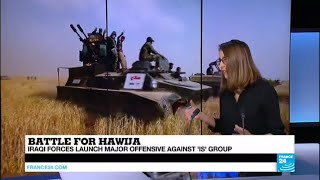 Iraq: Army forces launch major offensive against the IS Group stronghold Hawija