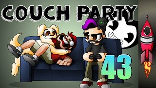 🔴 COUCH PARTY #43 | NEW Bendy And The Ink Machine Song |  | Rockit Gaming 🚀