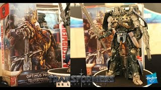 "Hasbro Announcement ""TRANSFORMERS: THE LAST KNIGHT"" movie toys in Hong Kong"