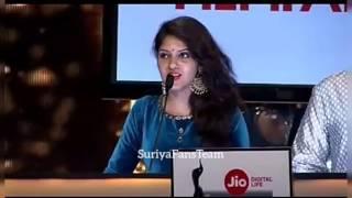 Suriya Receiving Filmfare Best Actor Award For 24