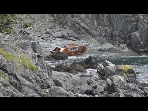 This Mysterious Boat Washed Up On Ireland's Coast And There Wasn't A Single Trace Of Any Crew