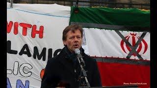 Persian Voice is heard at Dutch Parliament; Joël Voordewind (ChristenUnie MP)