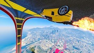 ROCKET CAR LOOP! - GTA 5 Funny Moments #673