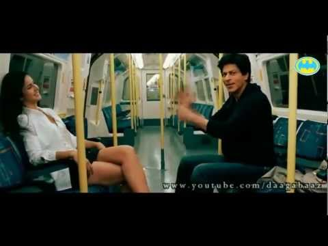 Super Hot Katrina Kaif Pole Dance with Shahrukh Khan in Train