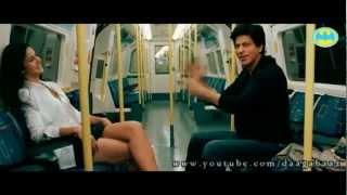 Super Hot Katrina Kaif Pole Dance with Shahrukh Khan in Train