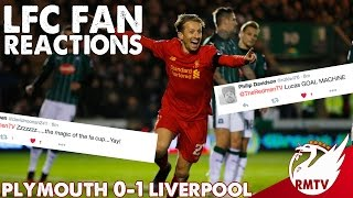 Plymouth v Liverpool 0-1 | #LFC Fan Reactions