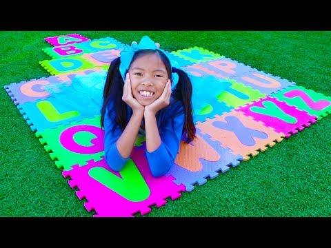 Xxx Mp4 ABC Song Wendy Pretend Play Learning Alphabet W Toys Nursery Rhyme Songs 3gp Sex