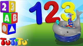 TuTiTu Preschool | 123 Bath Time Toys | Learning Numbers | Learn to Count to 10