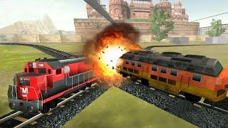 Train Simulator 2020   Android Game Play - Train Driving Simulator Game - Indian Train Driving Games