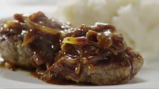 How to Make Hamburger Steak with Onions and Gravy | Beef Recipes | Allrecipes.com