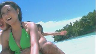 Naik Banana Boat Bareng Wiwid Gunawan