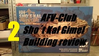 Building review: AFV-Club Sho´t Kal Gimel in 1/35 scale Part II