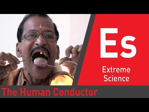 Over 500W of Electricity Conducts Through His Body: Superhuman Showdown