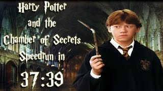Harry Potter and the Chamber of Secrets PC Speedrun in 37:39 (No Loads)