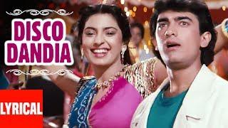 Disco Dandia Lyrical Video | Love Love Love | Vijay Benedict, Alisha Chinai | Amir Khan, Juhi Chawla