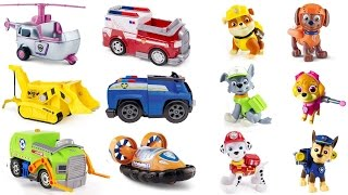 Best Learning Colors Video for Children  - Help Paw Patrol Pups Match Vehicles