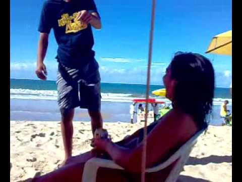 Putaria na praia de Ponta Negra