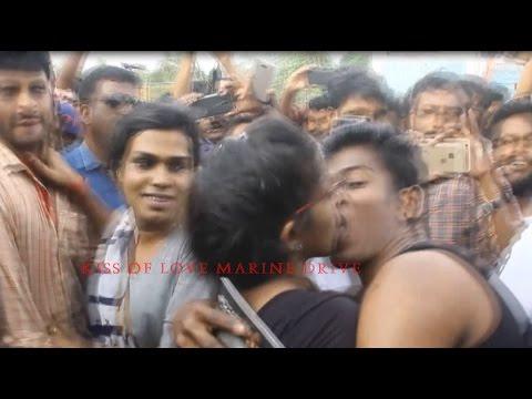 Xxx Mp4 KISS OF LOVE MARINE DRIVE KOCHI Kiss Of Love At Cochin Marine Drive Exclusive ചുംബന സമരം 2017 3gp Sex