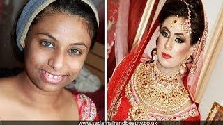 Real Bridal makeup and hair by Sadaf Wassan