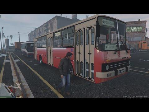 Gta v Ikarus mod let s be bus driver Manual gear box & rage transportation gtx 1080