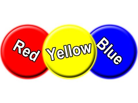 Red Circle Blue Circle Yellow Circle Learn Colors for Babies Toddler Colour Learning Song