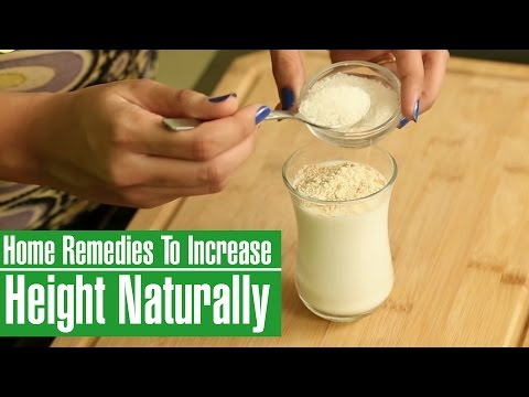 3 Effective Home Remedies To INCREASE HEIGHT NATURALLY (After 20)