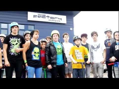 MGP Scooter Jam - Factory Skatepark Dundee 2011