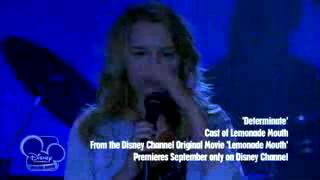 Lemonade mouth - Determinate (music video) - full Length