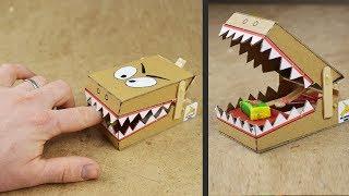 DIY Simple Rat Trap from Cardboard