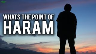 WHATS THE POINT OF HAVING HARAM? (Beautiful Explanation)