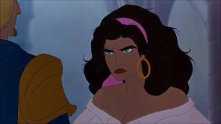 The Hunchback of Notre Dame - Esmeralda meets Phoebus in the Church