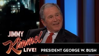President George W. Bush Reveals If Impressions Bothered Him