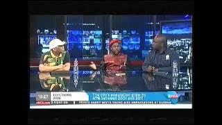 Debate on ENCA with Mbuyiseni Ndlozi EFF, Solly Msimanga DA and Kgosientso Ramokgopa ANC
