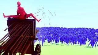 1 WEAPON vs. 1000 PEASANTS! (Totally Accurate Battle Simulator)