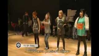 ❀LOLLIPOP-Dance Practice-Big Bang & 2NE1-YG CONCERT 2010 [ENG] ☆