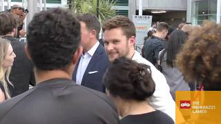 Jack Reynor outside the Midsommar Premiere at the ArcLight Theatre in Hollywood