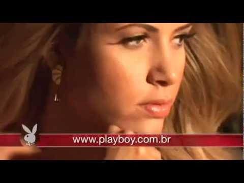 Making of Cacau Ensaio da Playboy por Mandrake