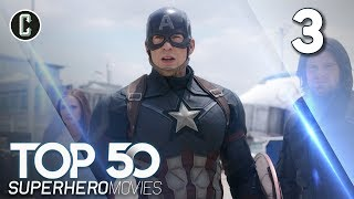 Top 50 Superhero Movies: Captain America: Civil War - #3