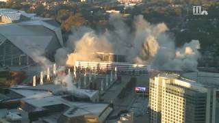 Watch the Georgia Dome implosion in slow motion
