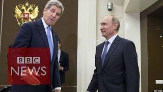 Ukraine crisis: John Kerry meets Putin in Russia - BBC News