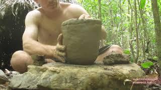Primitive Life: Palm Thatched Mud Hut