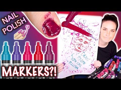Nail Polish MARKERS Don t draw my life