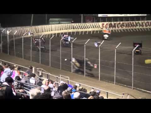 34 Raceway MOWA 410 Outlaw Sprint feat.4/12/14