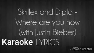 Where are you now karaoke/instrumental (In the style of Justin Bieber + backing vocals)